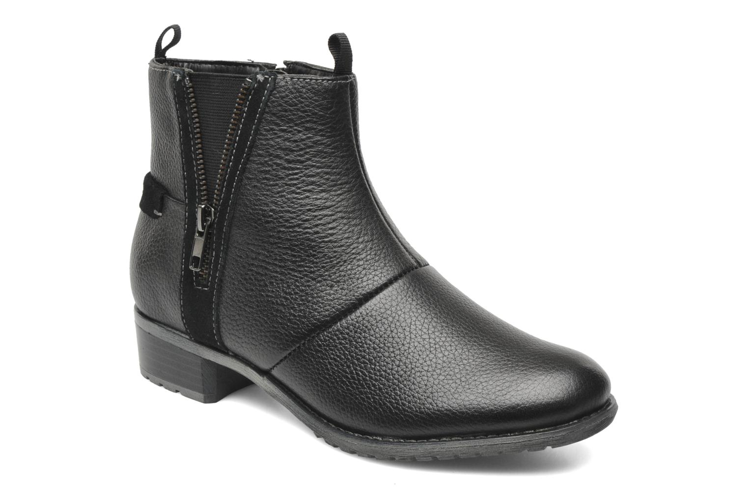 Ankle boots Hush Puppies chamber ankle_bt Black detailed view/ Pair view