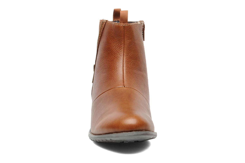 Bottines et boots Hush Puppies chamber ankle_bt Marron vue portées chaussures