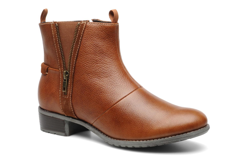 Bottines et boots Hush Puppies chamber ankle_bt Marron vue détail/paire