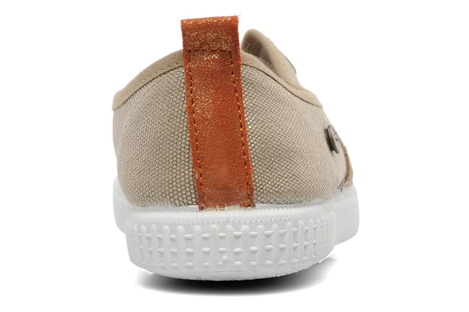 Trainers Buggy Vag Beige view from the right