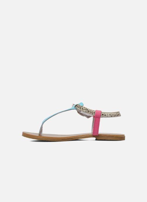 Sandales et nu-pieds Acebo's Dandelion Multicolore vue face