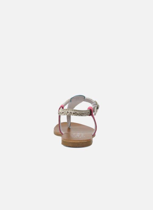 Sandales et nu-pieds Acebo's Dandelion Multicolore vue droite