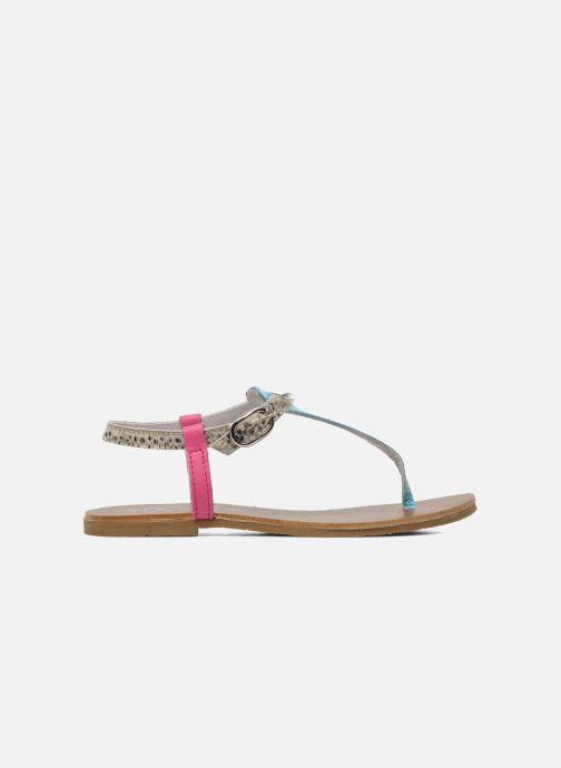 Sandales et nu-pieds Acebo's Dandelion Multicolore vue derrière
