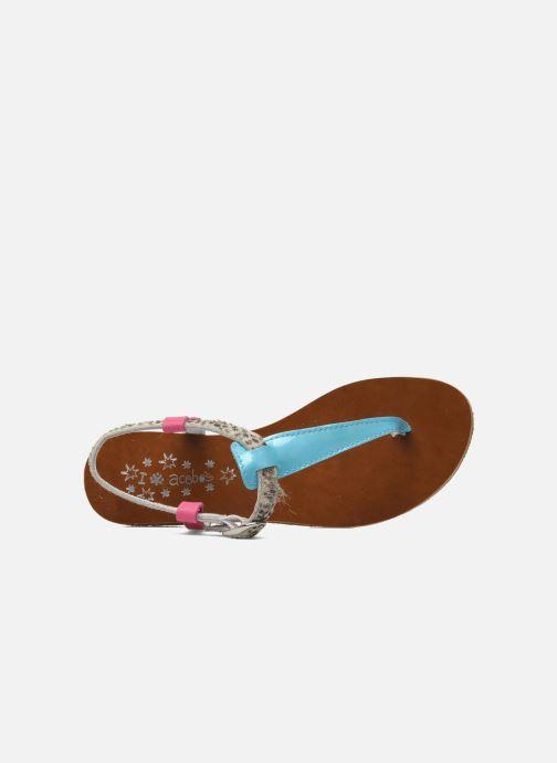 Sandales et nu-pieds Acebo's Dandelion Multicolore vue gauche