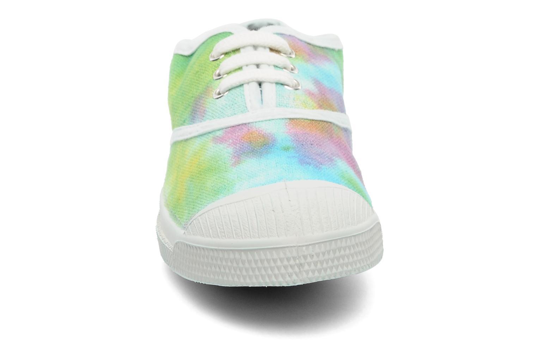 Baskets Bensimon Tennis Tie & Dye E Multicolore vue portées chaussures