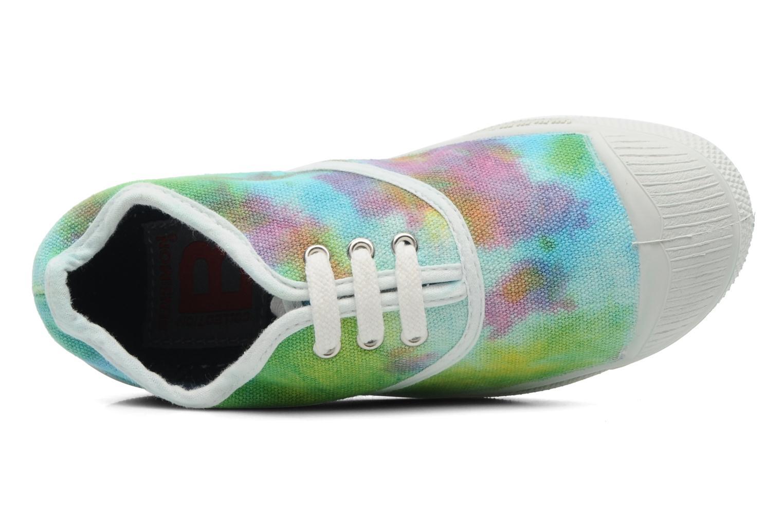 Baskets Bensimon Tennis Tie & Dye E Multicolore vue gauche