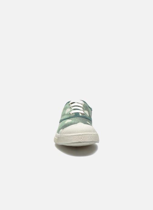 Sneakers Bensimon Tennis Bleachylove E Verde modello indossato