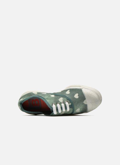 Sneakers Bensimon Tennis Bleachylove E Verde immagine sinistra