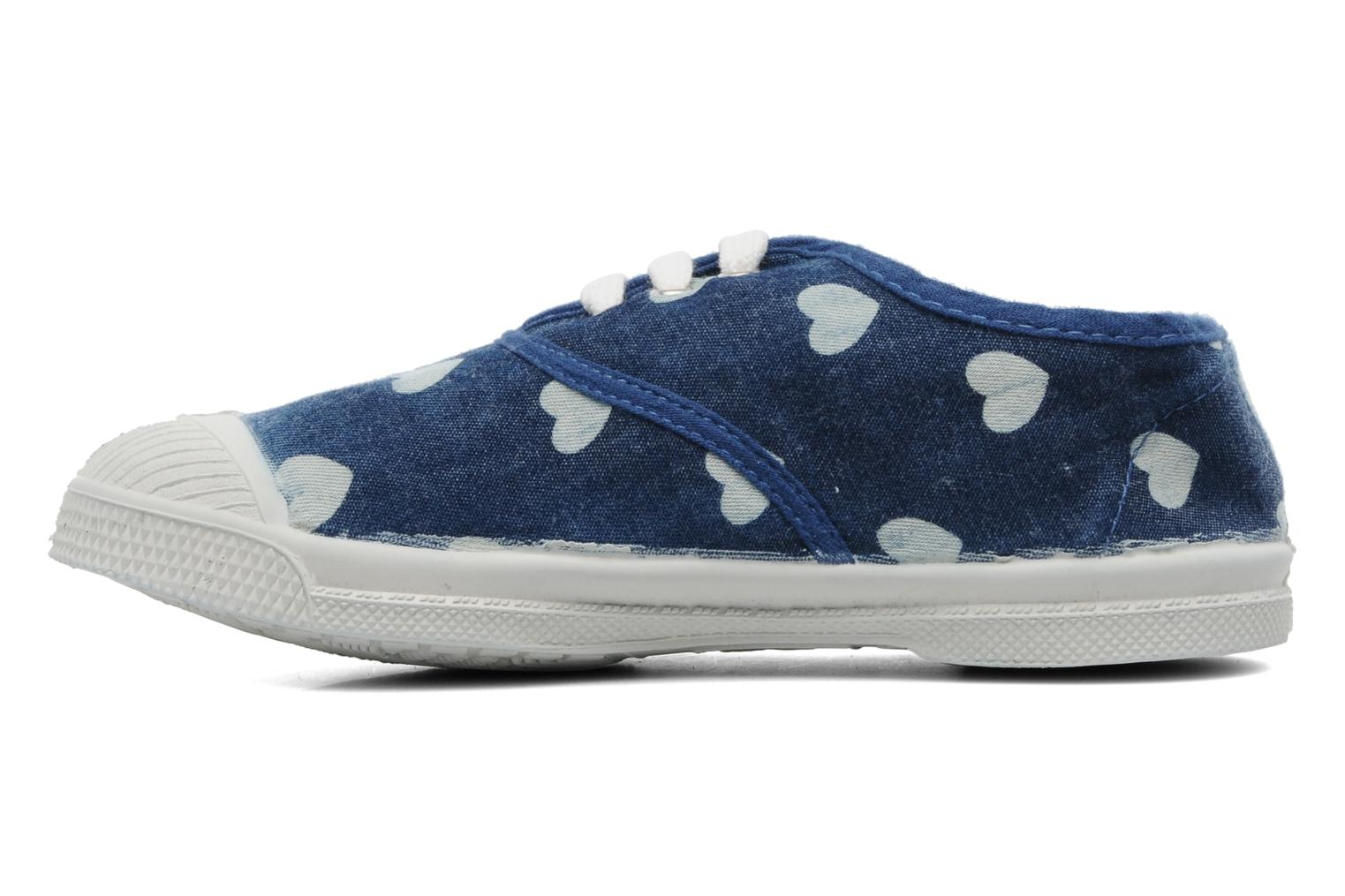 Baskets Bensimon Tennis Bleachylove E Bleu vue face