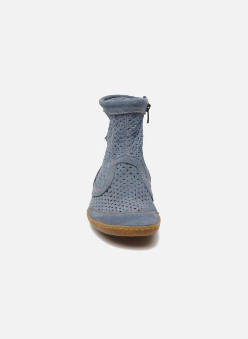 Stiefeletten & Boots El Naturalista El Viajero N262 W blau schuhe getragen