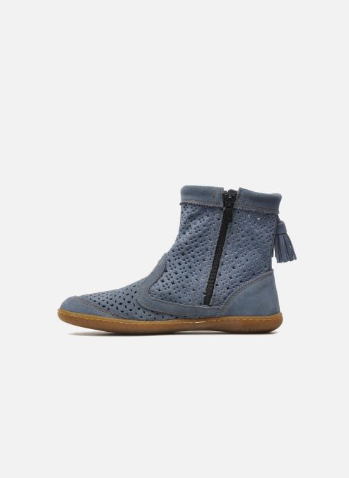 Stiefeletten & Boots El Naturalista El Viajero N262 W blau ansicht von vorne