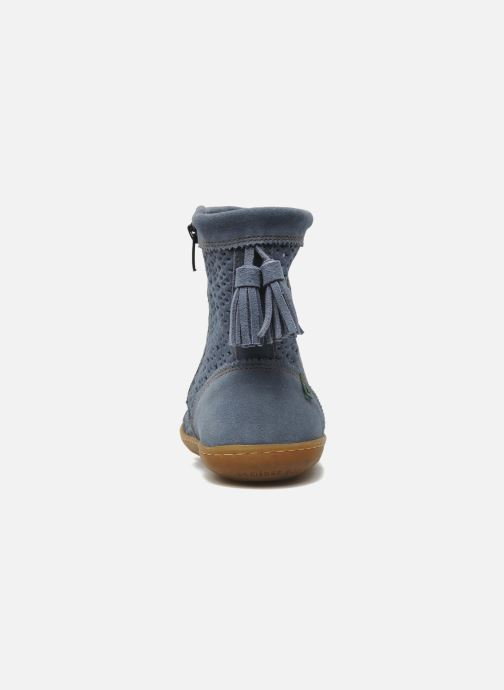 Ankle boots El Naturalista El Viajero N262 W Blue view from the right