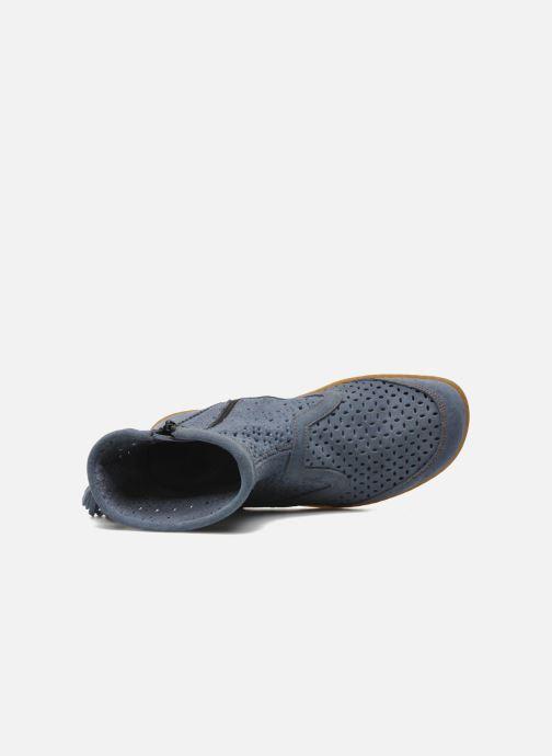 Bottines et boots El Naturalista El Viajero N262 W Bleu vue gauche