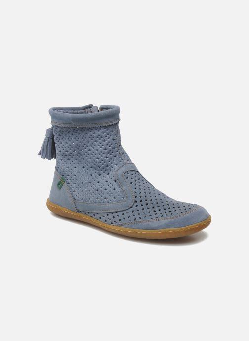 040b5eb058a8e2 Stiefeletten   Boots El Naturalista El Viajero N262 W blau detaillierte  ansicht modell