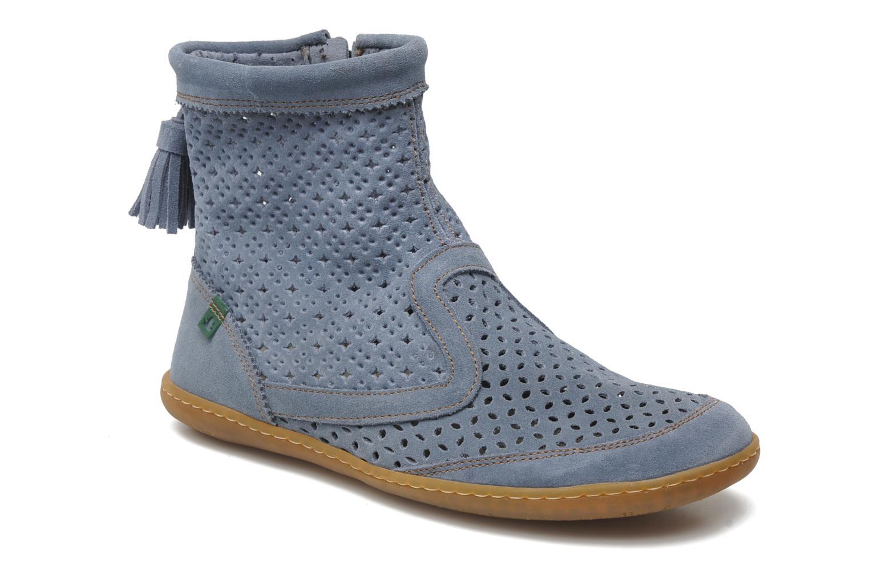 Ankelstøvler El Naturalista El Viajero N262 W Blå detaljeret billede af skoene