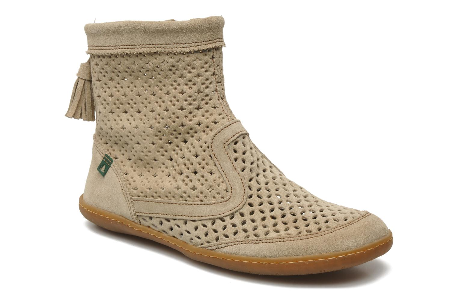 Ankle boots El Naturalista El Viajero N262 W Beige detailed view/ Pair view