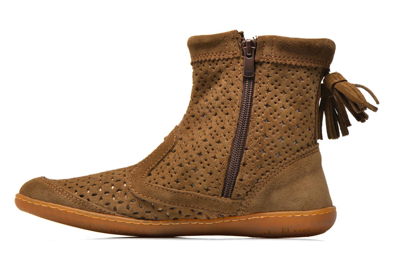 Boots en enkellaarsjes El Naturalista El Viajero N262 W Bruin voorkant