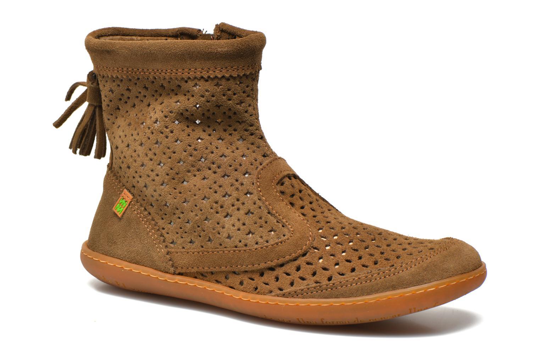Boots en enkellaarsjes El Naturalista El Viajero N262 W Bruin detail