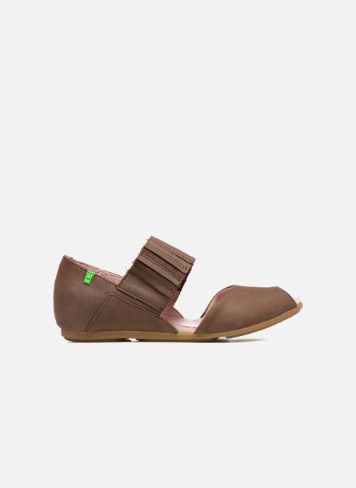 Sandales et nu-pieds El Naturalista Stella 030 Marron vue derrière