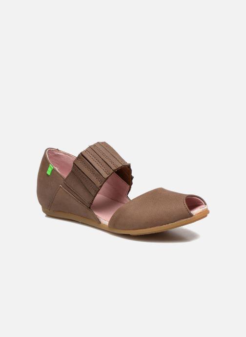 Sandales et nu-pieds El Naturalista Stella 030 Marron vue détail/paire