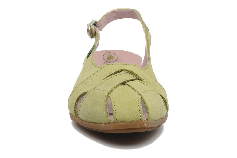 Sandales et nu-pieds El Naturalista Stella 031 Vert vue portées chaussures