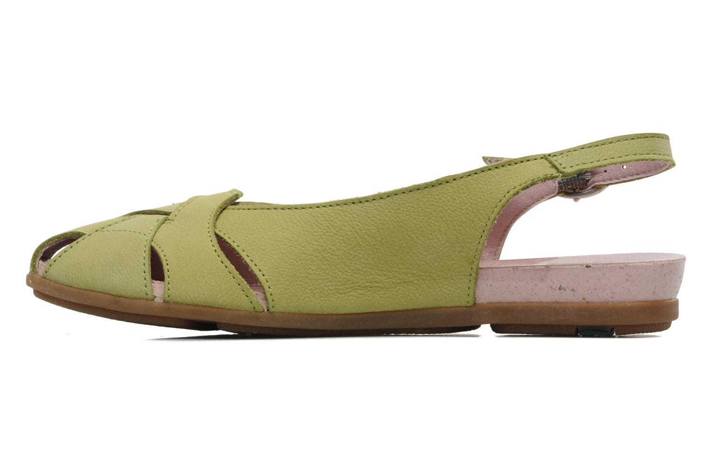 Sandales et nu-pieds El Naturalista Stella 031 Vert vue face
