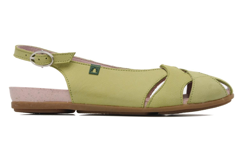 Sandales et nu-pieds El Naturalista Stella 031 Vert vue derrière