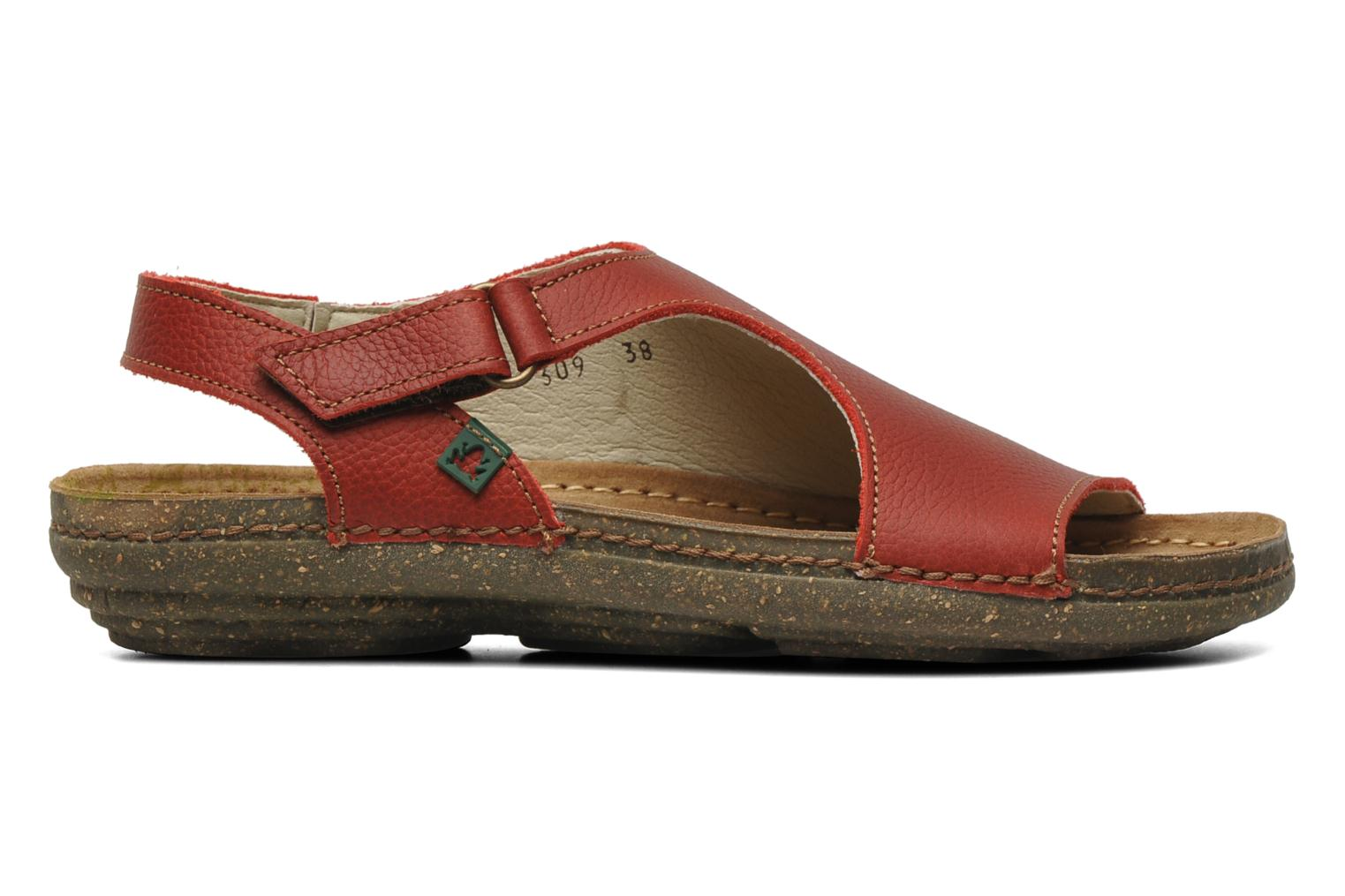 Sandals El Naturalista Torcal N309 Red back view