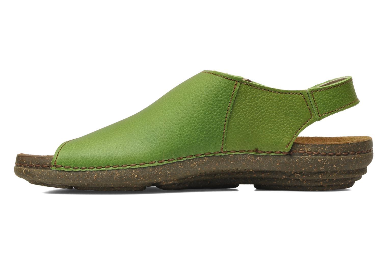 Sandales et nu-pieds El Naturalista Torcal N309 Vert vue face