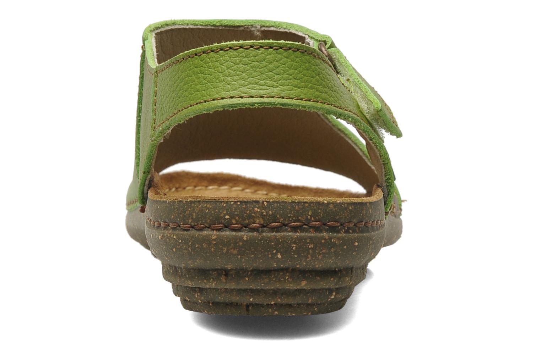 Sandales et nu-pieds El Naturalista Torcal N309 Vert vue droite