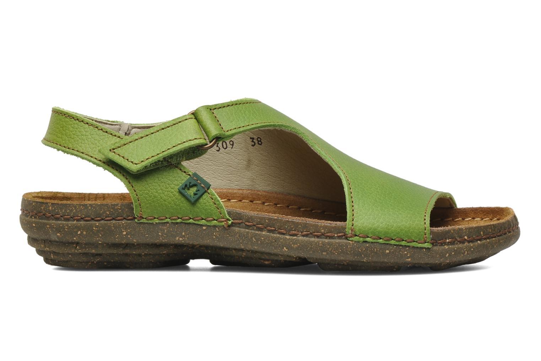 Sandales et nu-pieds El Naturalista Torcal N309 Vert vue derrière