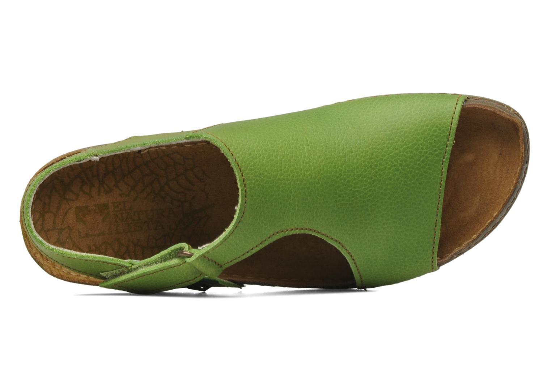 Sandales et nu-pieds El Naturalista Torcal N309 Vert vue gauche