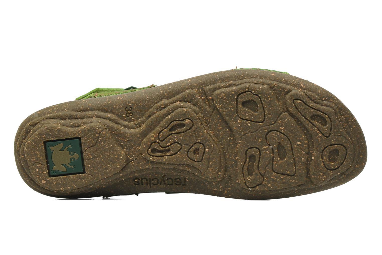 Sandales et nu-pieds El Naturalista Torcal N309 Vert vue haut