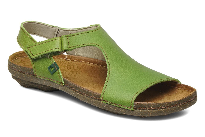 Sandales et nu-pieds El Naturalista Torcal N309 Vert vue détail/paire