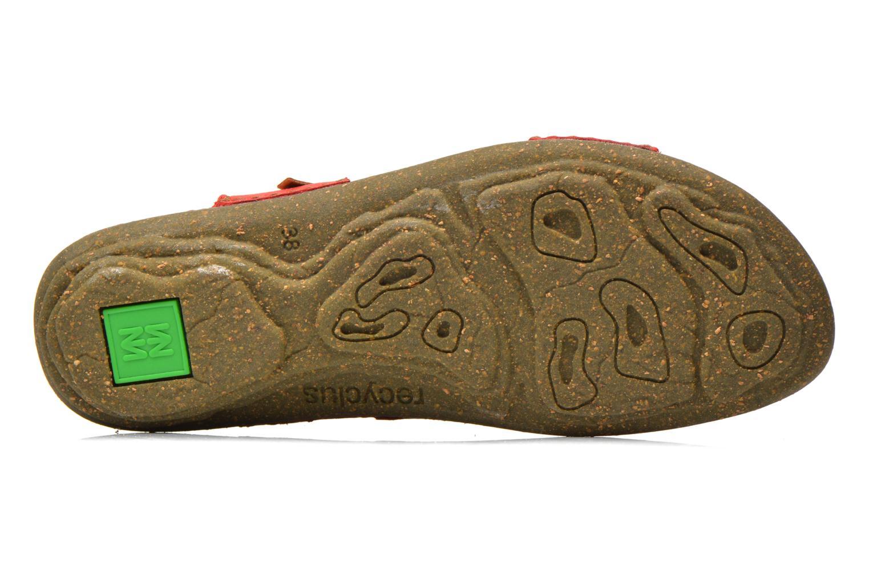 Sandales et nu-pieds El Naturalista Torcal N309 Rouge vue haut