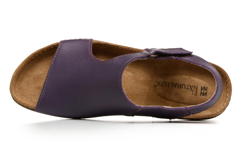 Sandales et nu-pieds El Naturalista Torcal N309 Violet vue gauche