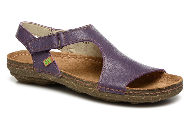 Sandales et nu-pieds El Naturalista Torcal N309 Violet vue détail/paire