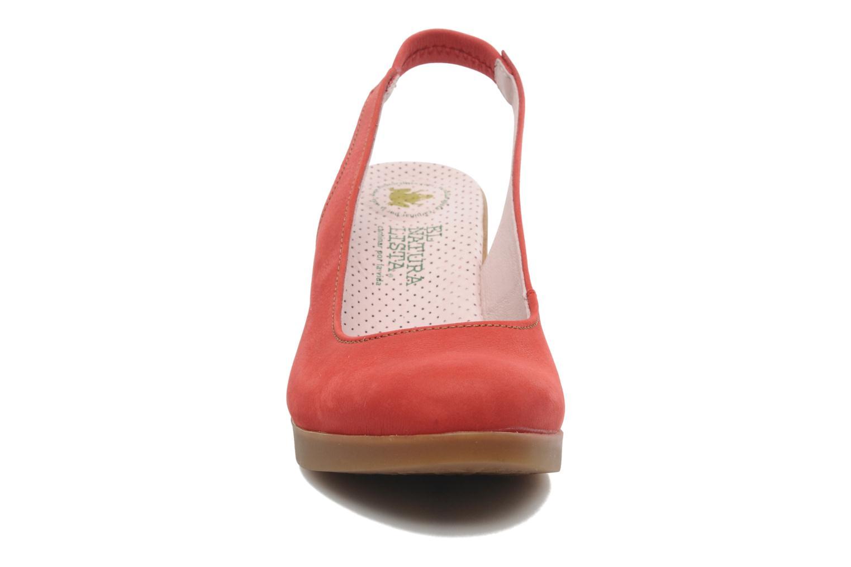Zapatos de tacón El Naturalista Espiral N583 Rojo vista del modelo