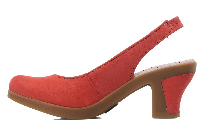 Zapatos de tacón El Naturalista Espiral N583 Rojo vista de frente