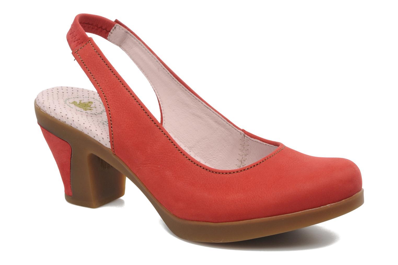 Zapatos de tacón El Naturalista Espiral N583 Rojo vista de detalle / par