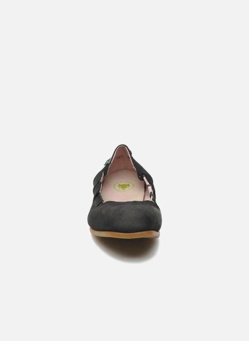 Ballerinas El Naturalista Croche N961 schwarz schuhe getragen