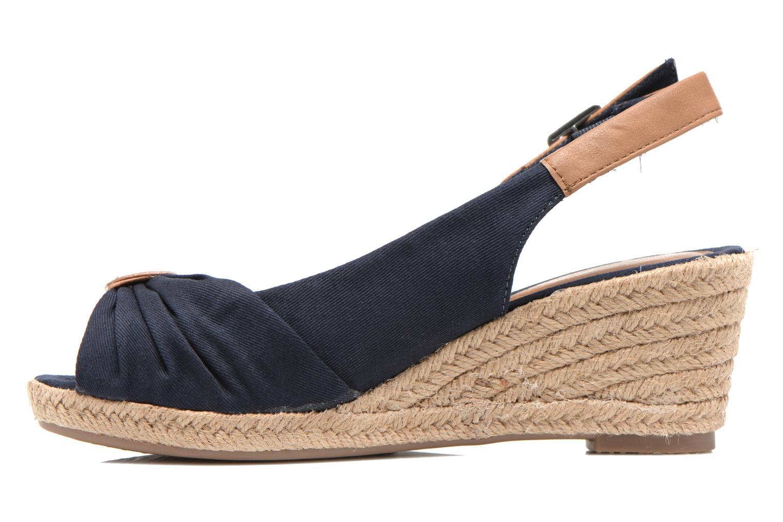 Sandales et nu-pieds Tom Tailor Tany Bleu vue face