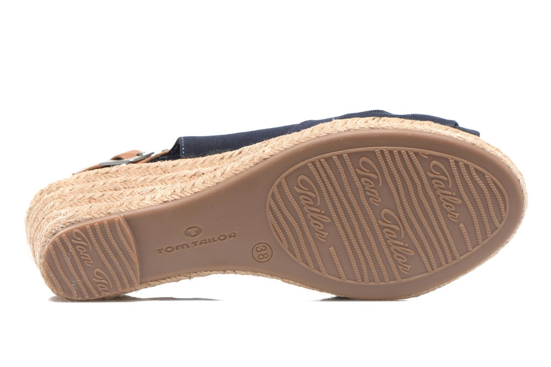 Sandales et nu-pieds Tom Tailor Tany Bleu vue haut