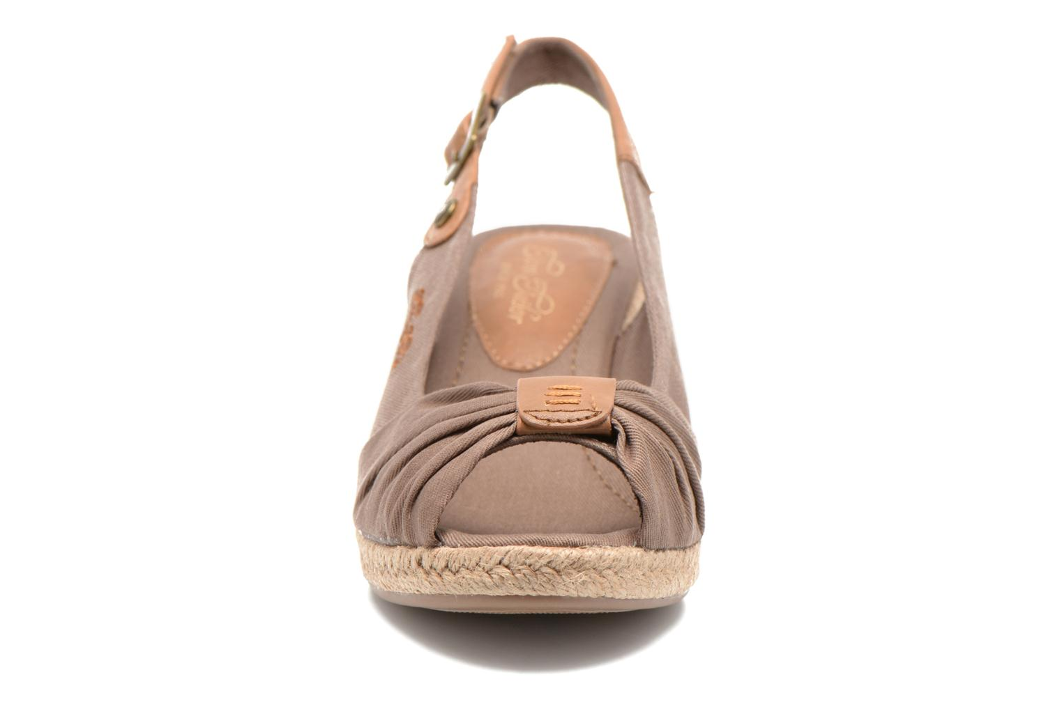 Sandals Tom Tailor Tany Brown model view