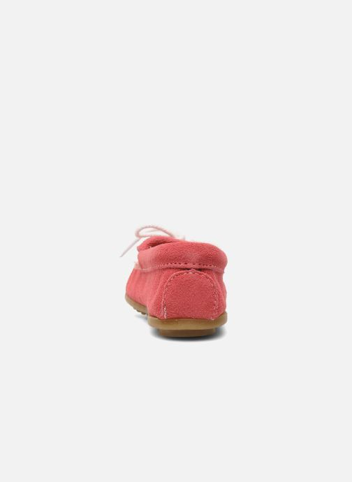 Loafers Minnetonka Thunderbird II Moc G Pink view from the right