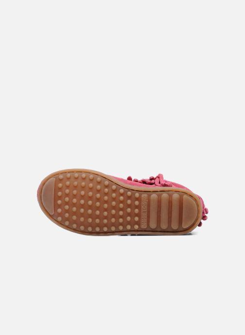 Stiefeletten & Boots Minnetonka Double Fringe bootie G rosa ansicht von oben