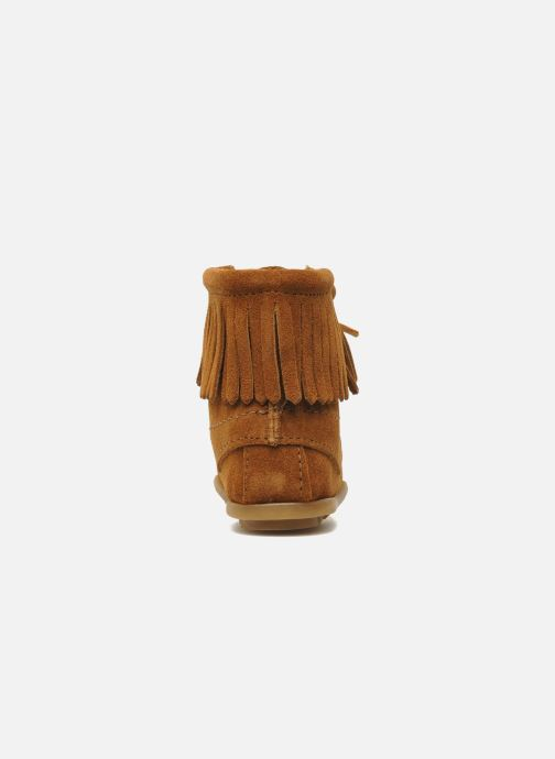 Boots en enkellaarsjes Minnetonka Tramper Bootie G Bruin rechts