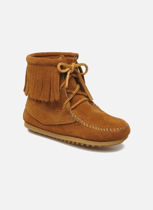 Bottines et boots Minnetonka Tramper Bootie G Marron vue détail/paire