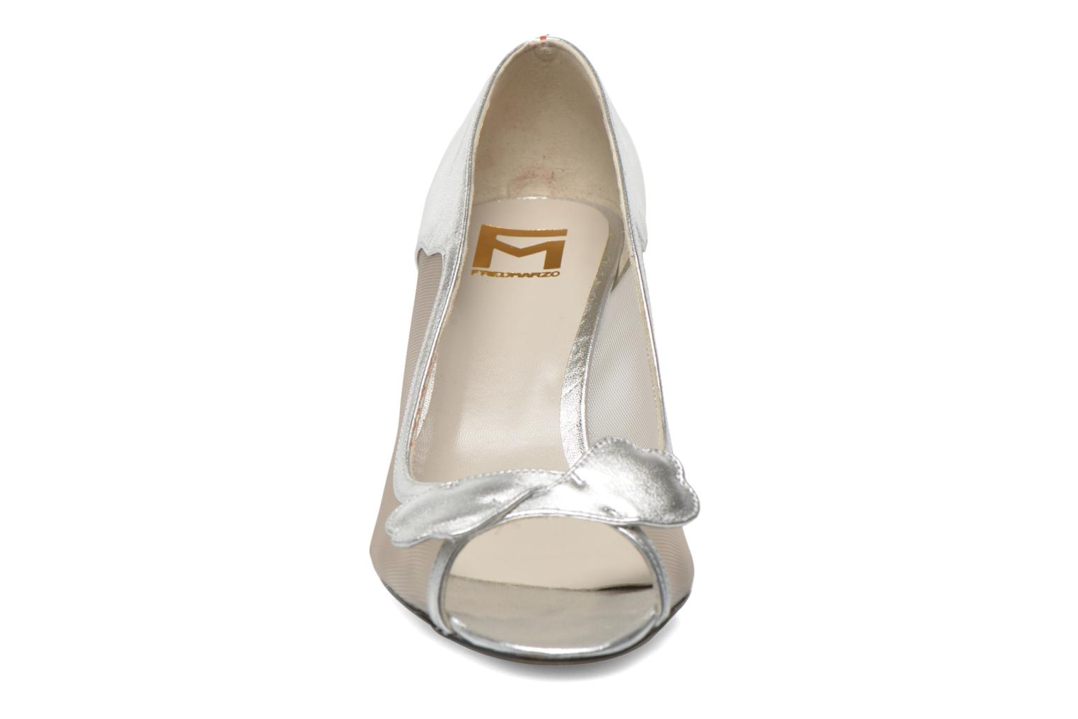 High heels Fred Marzo Maguy Silver model view