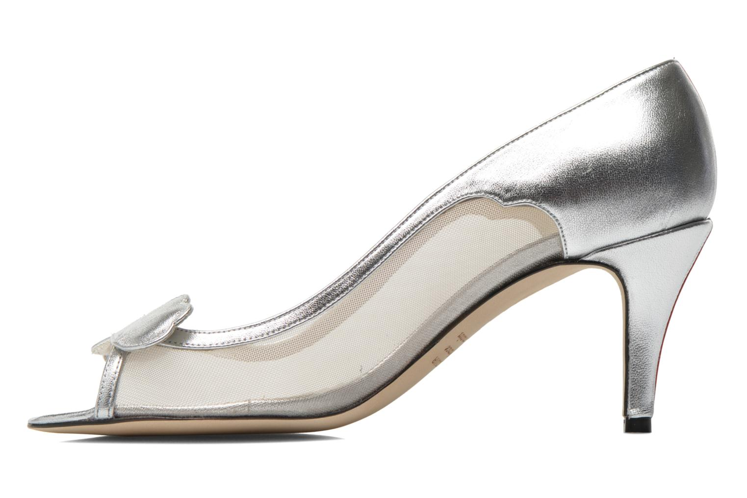 High heels Fred Marzo Maguy Silver front view